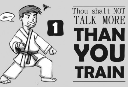 The 10 Commandments of Karate