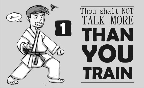 The 10 Commandments of Karate